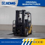 Gasolina del mástil de la etapa los 3m de XCMG 3ton 2 y carretilla elevadora del LPG con el desplazador lateral