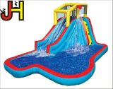 Kundenspezifisches aufblasbares Wasser-Plättchen für das Kind-Spielen