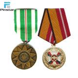 Medaglia di oro commemorativa 1991-1945 di guerra mondiale con il nastro