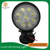 Lumière pilotante tous terrains automatique 27W du lumen élevé DEL avec anti-parasitage