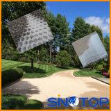 Réseau de pavage perméable, arrêtoirs allée, réseau de gravier de gravier de nid d'abeilles