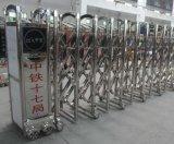 Automático eléctrico plegable corrediza de acero inoxidable puerta de entrada (HF-1010)