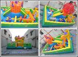 2017年の中国の膨脹可能な跳躍の城の弾力がある遊園地(T6-028)