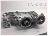 Автозапчасти крышки маслянного охладителя двигателя Deutz алюминиевые (OEM: 04254556/BF4M2012)