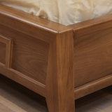 現代様式のWiteカラー革ベッドの家具CH-625