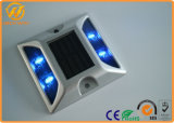Indicatore solare all'ingrosso della strada del LED, vite prigioniera di alluminio della strada dell'occhio di gatto