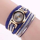Bracelete de couro do projeto da forma do bracelete de relógio de Hotsale