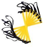 Fußball-Geschwindigkeits-u. Beweglichkeits-Trainings-Strichleiter mit schwarzem tragendem Kasten