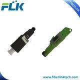 Tipo fijo enchufable óptico varón de fibra al atenuador femenino Sc/LC/FC/St/E2000/Mu Upc/APC