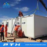 Prefabricated 모듈방식의 조립 주택을%s 편평한 팩 콘테이너 집