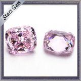 Alta calidad de Luz Rosa CZ diamantes sintéticos para la joyería de plata