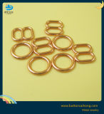Ganchos de sutiã de metal Rose Gold Bra Freios Ajustador de lingerie para acessórios Bra