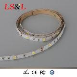 5050 60LEDs/M, lumière de bande de DEL 14.4W, ce 5m/Roll et RoHS