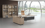 L 모양 현대 간단한 사무실 나무로 되는 가구 행정실 책상 (BL-1806)