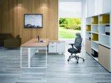 Estándar de madera Muebles de oficina escritorio ejecutivo con el gabinete