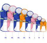 OEM 방수 PU 애완견 비옷 판초 우천용 의류 비옷