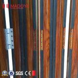 Fabrik-Preis-Außenaluminiumprofil-Glasfalz-Tür für Yard