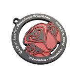Karnevals-Medaille der Sandstrahlen-antike Verkupferung-3D