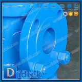 手動ハンドルが付いているDidtekの鋳造物鋼鉄軌道プラグ弁
