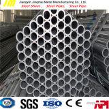 Le tube en acier galvanisé Chaud-Plongé/a galvanisé le tube en acier/pipe en acier galvanisée