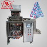 Arroz/doces/Linhas quatro máquina do champô de empacotamento automática de selagem