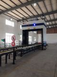 X varredor do recipiente do pórtico da máquina da raia para o aeroporto, costumes, porto, inspeção da segurança da beira
