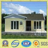 현대 가벼운 강철 구조물 조립식 별장 집