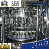 La bière en bouteille en verre entièrement automatique Machine d'emballage de remplissage