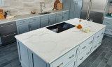 Камень высокого качества искусственний покрывает цену кварца Carrara белое