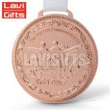 Comercio al por mayor de metal personalizados Soft enamel Deporte Medalla de Oro Jujitsu