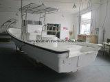 Liya Panga Bateau Bateau de pêche en fibre de verre de 25 pieds