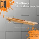 Blocage en aluminium de crochet de porte coulissante de qualité pour le guichet, blocage de guichet de glissement