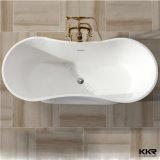 Санитарный двойник прямоугольника изделий закончил ванну Corian твердую поверхностную