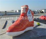 Aerostato gonfiabile gigante dei pattini, repliche delle scarpe da tennis di Inflatalbe per la pubblicità K3046