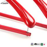 Kundenspezifische rote beste hölzerne Mantel-Klage-Luxuxaufhängung mit Stab