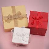 Kundenspezifisches buntes Ring-Luxuxgeschenk-verpackenkasten der Dame-Finger