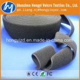 Nyllon Gut-justierbares elastisches Schleifen-Flausch-Band
