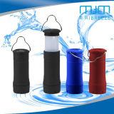 휴대용 확장 가능한 LED 야영 손전등 플라스틱 천막 빛