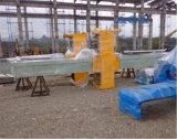 平板への自動石造り橋打抜き機の鋸引きの大理石のブロック
