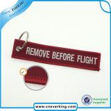 All'ingrosso a buon mercato personalizzati rimuovono prima del volo Keychains