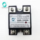 SSR-120da 3-32VDC van de Output van de Input 24-480VAC Relais In vaste toestand
