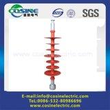 Aislador largo de alto voltaje del polímero/de Rod de la suspensión polimérica/compuesta