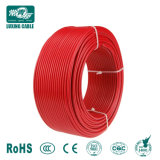 Fios eléctricos de cobre, 1*6,0 mm2 PV Cabo Flexível, TUV Rheinland Aprovação, Melhor Qualidade