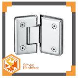 Quadrado dobradiça de porta do chuveiro do aço inoxidável de 135 graus