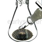 Eis-entfernbares stromabwärts gerichtetes Huka-Glas-rauchende Wasser-Rohre (ES-GB-300)