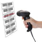 소형 타전된 1d Laser Barcode 스캐너 독자, USB/RS232/PS2 연결성, Mj2806