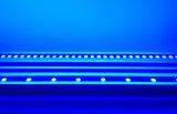Ультра тонкий линейный светодиодный RGB /RGBW на стену