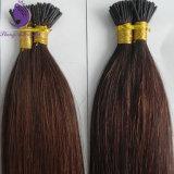 私はひっくり返す人間の毛髪のPrebondedの毛の拡張(IT15)を
