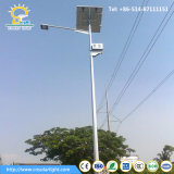 Indicatori luminosi di via solari del singolo braccio di alta qualità con caduta della batteria sul Palo