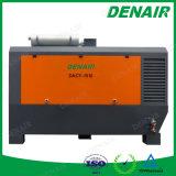 il rimorchio del motore diesel 8bar ha montato il compressore d'aria rotativo lubrificato della vite